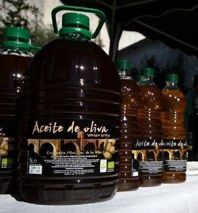 Aceite de Oliva Virgen Extra Bio 5L. Alcántara (CC)