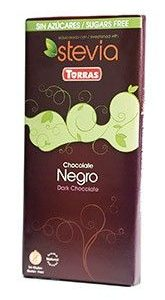 Chocolate Negro con Frutos del Bosque y Stevia