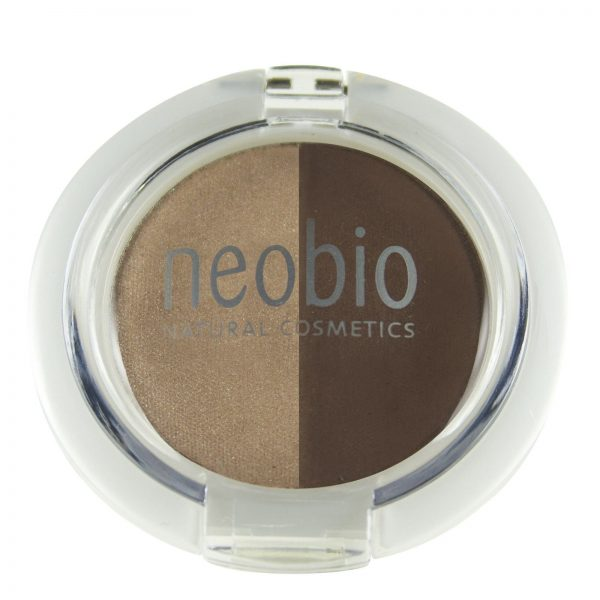 Sombra de Ojos DUO 02 BROWN CHAMP. Neobio
