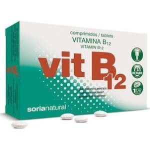 Vitamina B12 Retard, 48 comp. Soria Natural