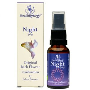 Spray Night (descanso) Flores De Bach 5 Flowers, 25ml. Healing Herbs