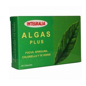 Algas Plus (Fucus, Chlorella y Espirulina), 60comp. Integralia
