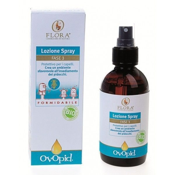 Loción Spray Antipiojos Ovopid Fase 3, 150ml. Flora
