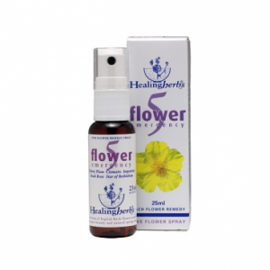 Spray Emergencia Bach 5 Flowers, 25ml. Healing Herbs