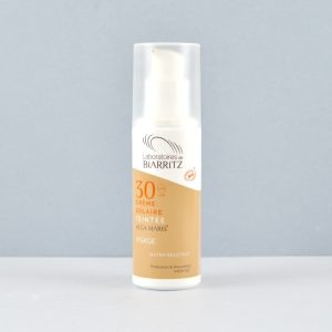 Crema Solar SPF 30 con color Bio- Golden/ Dorado, 50ml. Algamaris