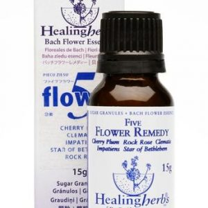 Rescue Remedy Bach 5 Flowers Granulos s/a, 15g. Healing Herbs