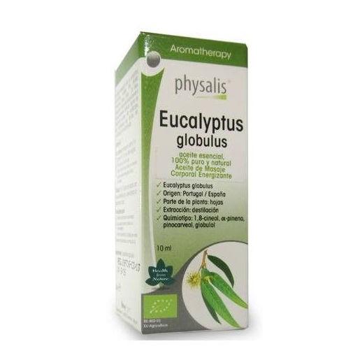 Aceite Esencial de Eucalipto (Eucaliptus Globulus) BIO, 10ml. Physalis