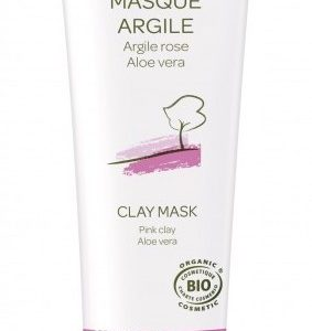 Mascarilla Piel Sensible Arcilla Rosa y Aloe BIO, 100ml. Cattier