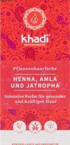 Tinte Herbal Castaño Oscuro BIO, 100g. Khadi