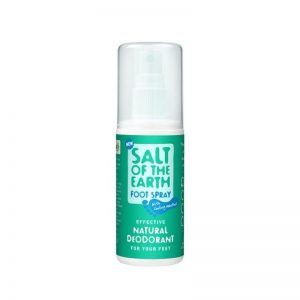 Desodorante Natural Vegano para Pies, 100ml Spray. Salt of the Earth