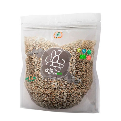 Semillas de Chía Bio, 1kg. Superfood