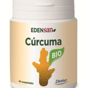 Cúrcuma BIO (Edensan), 60 comp. Dietisa
