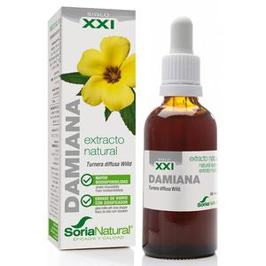 Extracto de Damiana Fórmula XXI, 50ml. Soria Natural