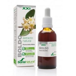 Extracto de Boldo Fórmula XXI, 50ml. Soria Natural